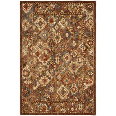 Heritage Endless Wild Light Camel 8 ft. x 10 ft. Area Rug