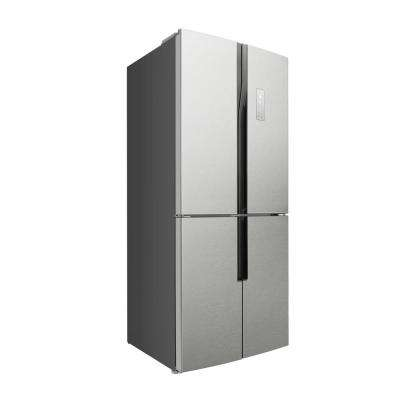 31 in. 15.3 cu. ft. Freestanding Counter Depth 4-Door French Door Refrigerator in Stainless Steel