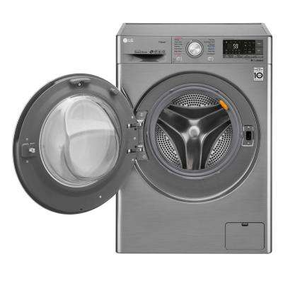2.3 cu. ft. All-in-one Graphite Steel Front Load Electric Washer and Ventless Dryer Combo