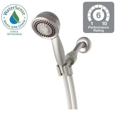 Vardon 5-Spray 3.75 in. Handshower in Brushed Nickel
