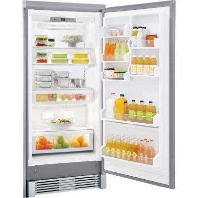 18.6 cu. ft. Freezerless Refrigerator in Stainless Steel