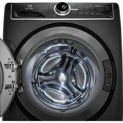 4.4 cu. ft. Front Load Washer with SmartBoost Technology Steam in Titanium, ENERGY STAR