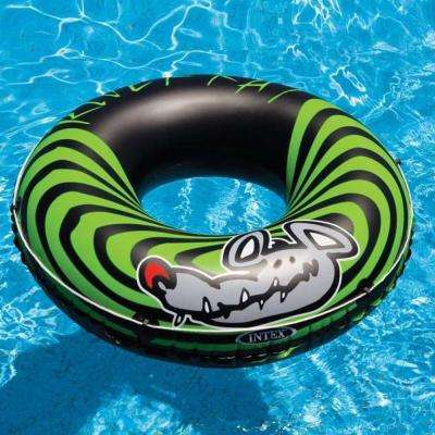River Rat 48 in. Inflatable Tubes for Lake/Pool/River (6-Pack)