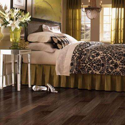 Natural Walnut 3/8 in. Thick x 5 in. Wide x Varying Length Soft Scraped Engineered Hardwood Flooring (23.5 sq. ft.)