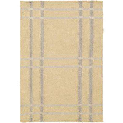 Sheffield Market Lime 3 ft. 3 in. x 5 ft. 3 in. Indoor Area Rug