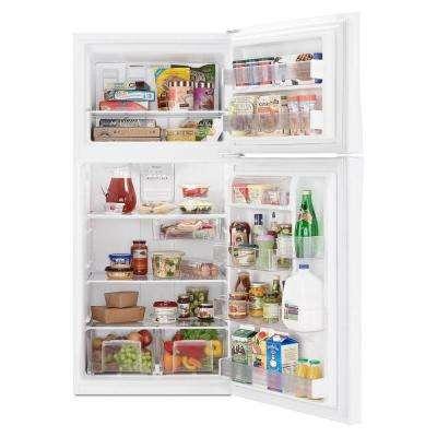 19.2 cu. ft. Top Freezer Refrigerator in White