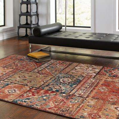 Bazaar Gemma Gold 8 ft. x 10 ft. Indoor Area Rug