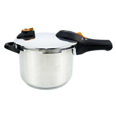 Global Kitchen 6.2 Qt. Pressure Cooker in Stainless Steel