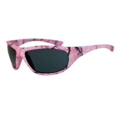 Outdoor Pink Camo Full-Frame Sunglasses