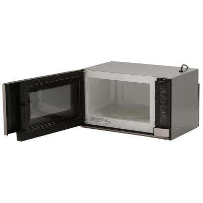 1.5 cu. ft. Over the Counter Microwave in Stainless Steel with Sensor Cooking Technology