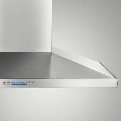 36 in. Wall Mount Chimney Range Hood in Stainless Steel