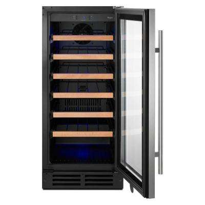 15 in. W 34-Bottle Wine Cellar