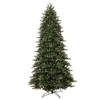 9 ft. Pre-Lit LED Just Cut Frasier Fir Artificial Christmas Tree with EZ Light Technology and Warm White LED Lights