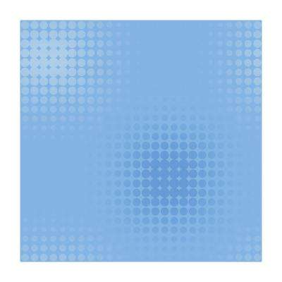 56 sq. ft. Optical Dots Wallpaper