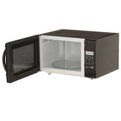 1.6 cu. ft. Countertop Microwave in Black