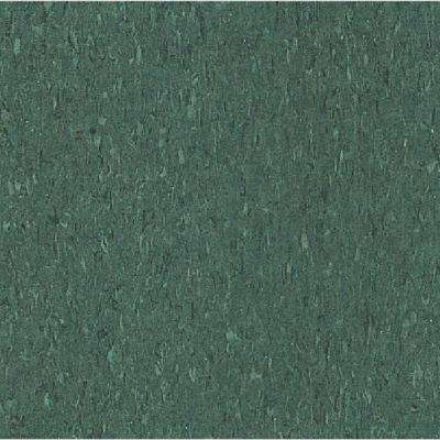Imperial Texture VCT Basil Green Standard Excelon Commercial Vinyl Tile - 6 in. x 6 in. Take Home Sample