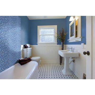 Hawaiian Sky 11.81 in. x 11.81 in. x 4mm Glass Mesh-Mounted Mosaic Tile (19.4 sq. ft. / case)