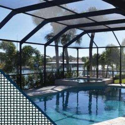 72 in. x 25 ft. Charcoal Fiberglass Pool and Patio Screen