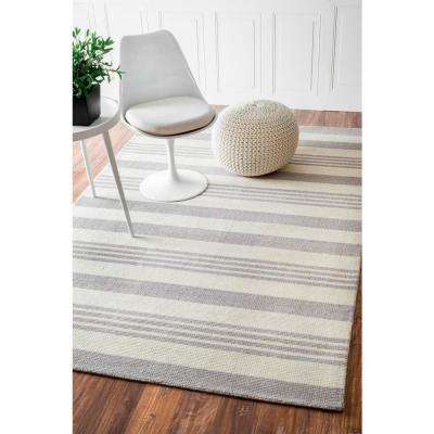 Earleen Grey 3 ft. x 8 ft. Runner Rug
