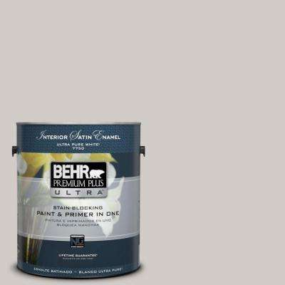 Home Decorators Collection 1-gal. #HDC-NT-20 Cotton Grey Satin Enamel Interior Paint