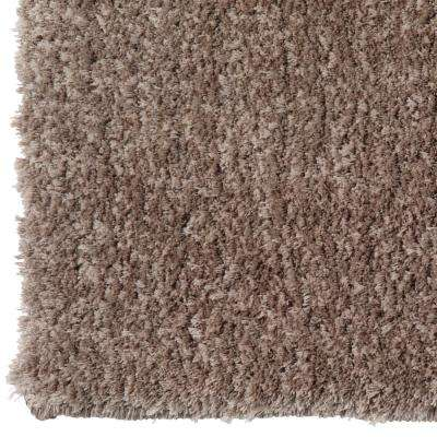 Ethereal Shag Taupe 2 ft. x 8 ft. Indoor Runner Rug