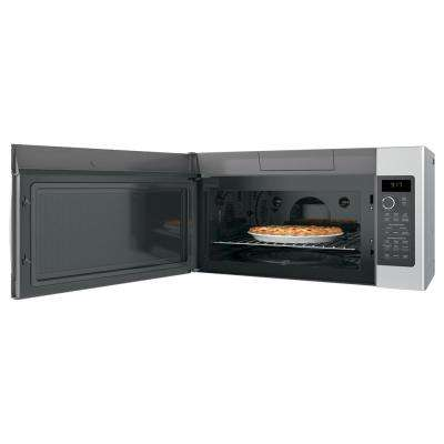 Profile 1.7 cu. ft. Convection Over the Range Microwave in Stainless Steel