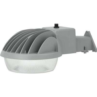 PCOSL Collection Textured Gray Outdoor Integrated LED Area Light