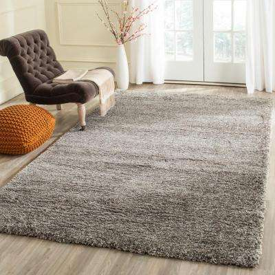 Milan Shag Grey 8 ft. 6 in. x 12 ft. Area Rug