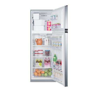 8.8 cu. ft. Top Freezer Refrigerator in Stainless Steel, Counter Depth