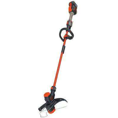 13 in. 60-Volt MAX Lithium-Ion Cordless 2-in-1 String Grass Trimmer/Lawn Edger with 1.5Ah Battery and Charger Included
