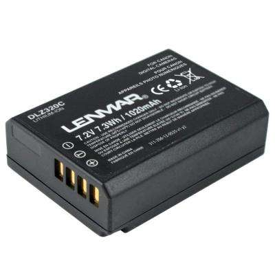 Lithium-Ion 1020mAh/7.2-Volt Digital Camera Replacement Battery