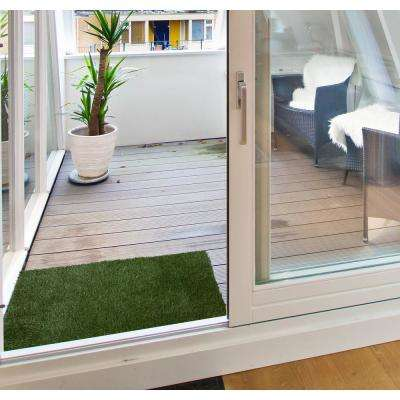 Garden Grass Collection 2 ft. x 3 ft. Artificial Grass Synthetic Lawn Turf Indoor/Outdoor Doormat