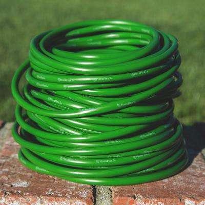 1/4 in. O.D. x 3/16 in. I.D. x 100 ft. Green Premium Vinyl Flora Tubing (1-Pack)