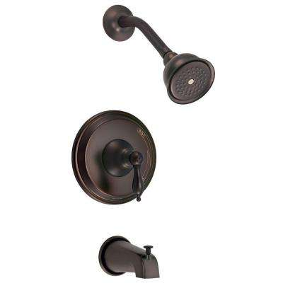 Fairmont 1-Handle Pressure Balance Tub and Shower Trim Only in Oil Rubbed Bronze (Valve Not Included)