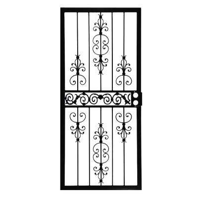 409 Series Spanish Lace Steel Prehung Security Door