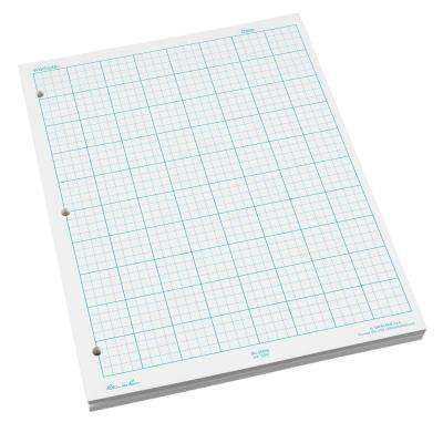 8-1/2 in. x 11 in. Graph Notepad (100-Sheets)