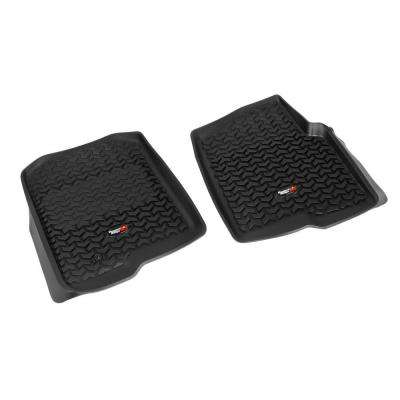 Floor Liner Front Pair Black 2004-2008 Ford F150