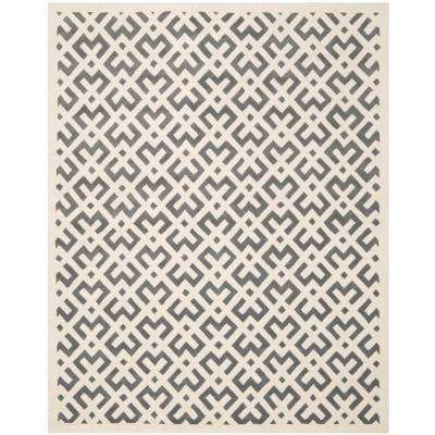 Chatham Dark Grey/Ivory 8 ft. 9 in. x 12 ft. Area Rug