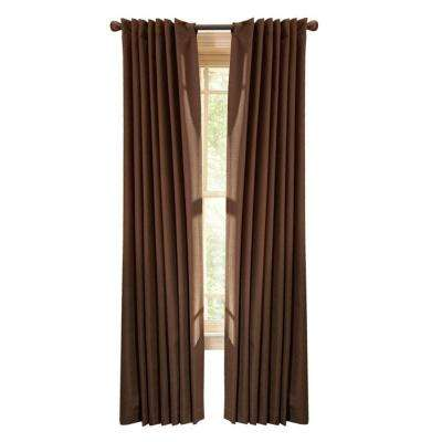 thermal crepe back tab curtain - Thermal Curtains