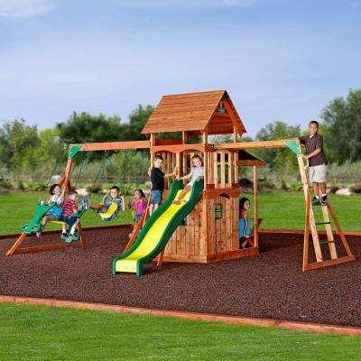 Saratoga All Cedar Swing Set