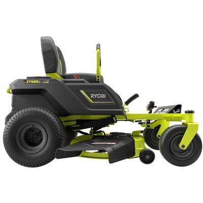 42 in. 75-Amp Battery Electric Zero Turn Riding Mower and Bagging Kit