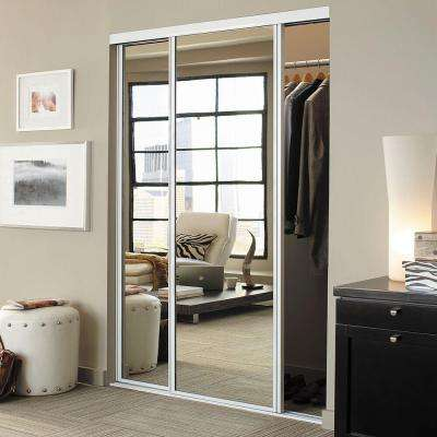 Concord Anodized Aluminum Frame Duraflect Mirror Interior Ultraglide Sliding Door