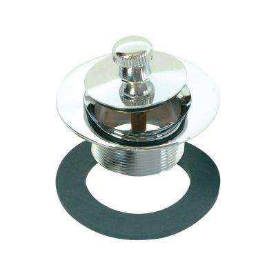 1-3/8 in. Lift-N-Turn Bath Drain Assembly, Chrome