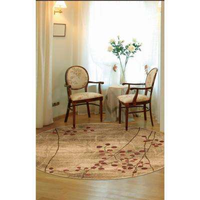 Somerset Latte 4 ft. x 6 ft. Area Rug