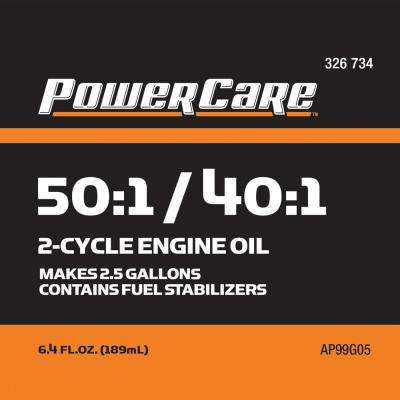6.4 oz. Synthetic-Blend 2-Cycle Oil