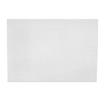13 in. x 18 in. Indoor/Outdoor Placemat in White