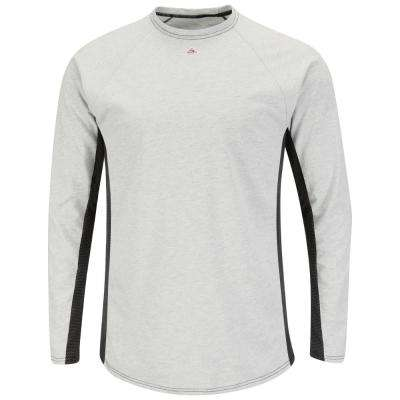 EXCEL Flame Resistant Men's Grey Long Sleeve FR Two-T1 Base Layer