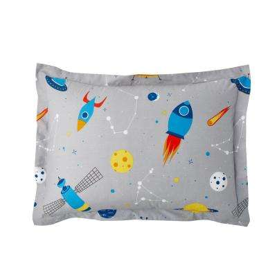 Space Mission 200-Thread Count Cotton Percale Sham