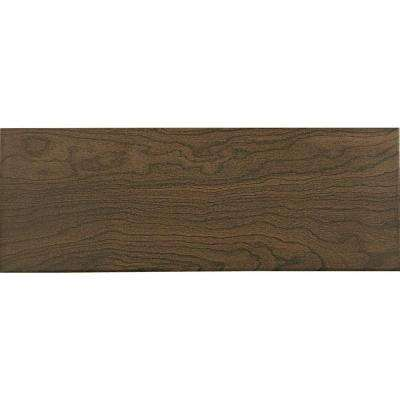 Parkwood Brown 7 in. x 20 in. Ceramic Floor and Wall Tile (10.89 sq. ft. / case)