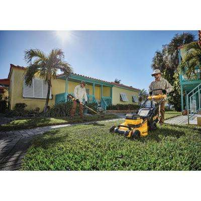 20 in. 40-Volt Lithium-Ion Cordless Battery Walk Behind Push Mower w/ (1) 6.0 Ah Battery and Charger